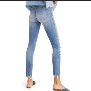 """Madewell High Rise 9"""" Petite in Frankie Wash C19"""